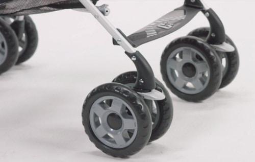 Chicco C6 Stroller-suspension