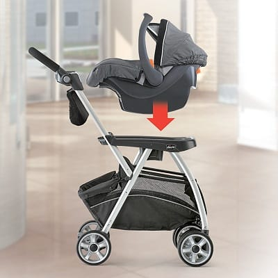 Chicco-Keyfit-Caddy-Stroller-Frame-combine