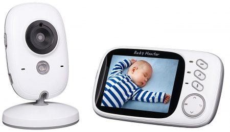 Honrane 3.2inch Video Baby Monitor