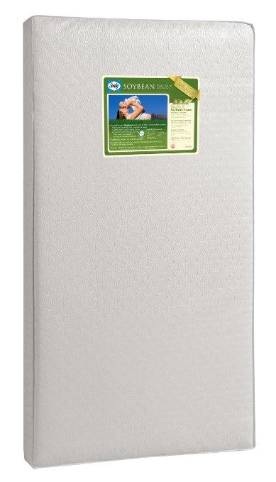 Sealy Soybean Foam-Core Crib Mattress