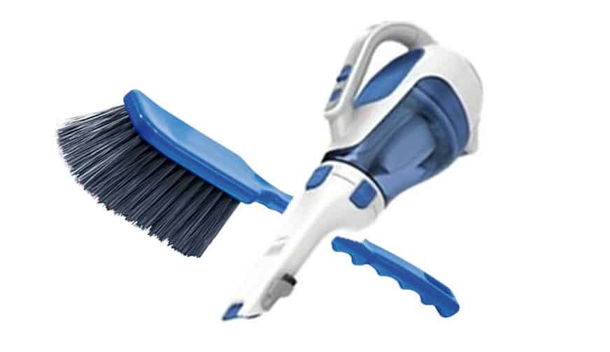 brush and vacuum