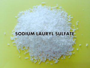 sodium laureth sulfate (SLS)