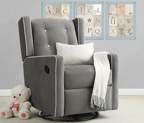 Baby Relax Mikayla Swivel Glider