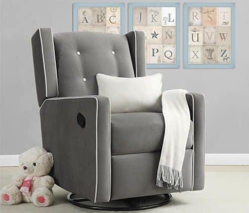 Baby Relax Mikayla Swivel Glider