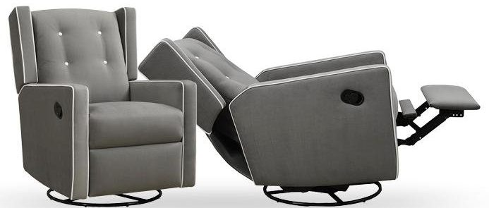 Reclinable gliders