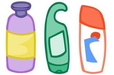various bottle soaps