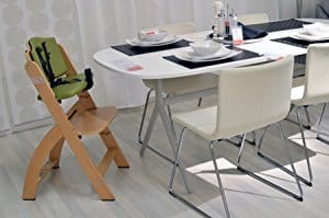 Abiie Beyond Wooden High Chair - fitting