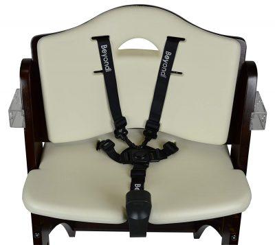 Abiie Beyond Wooden High Chair - seat