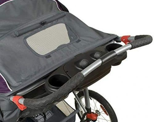 Baby Trend Expedition Double Jogger-window