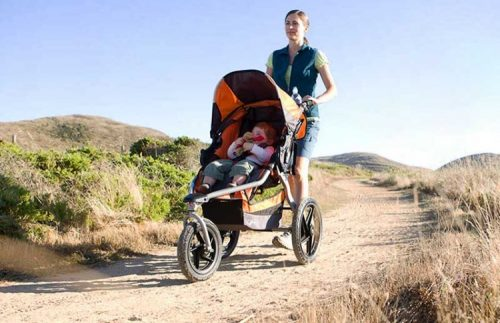 Best-Lightweight-jogging-stroller-bumpy-road