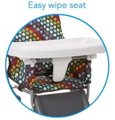 Cosco Simple Fold High Chair - clean