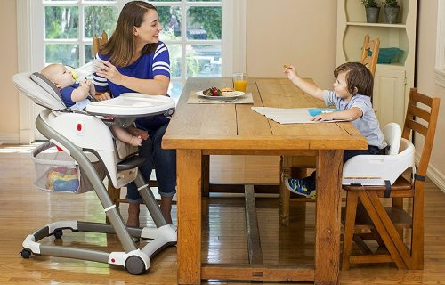 Graco Blossom High Chair - family