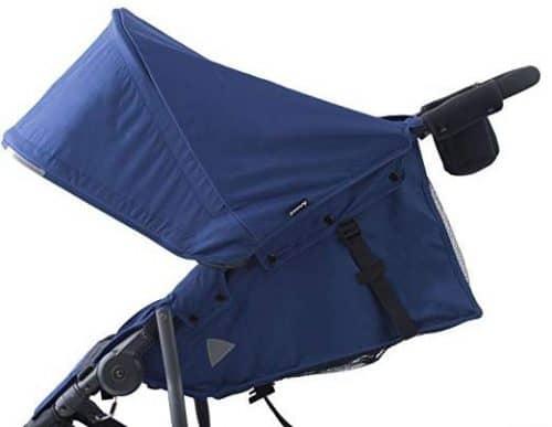 Joovy Zoom Ultralight Jogging Stroller-soft fabric