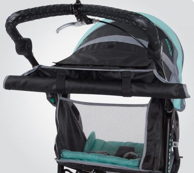 Schwinn Arrow Jogging Stroller-window
