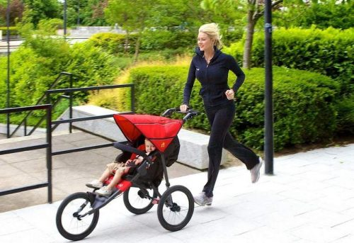 best-jogging-stroller-unlocked-front-wheel