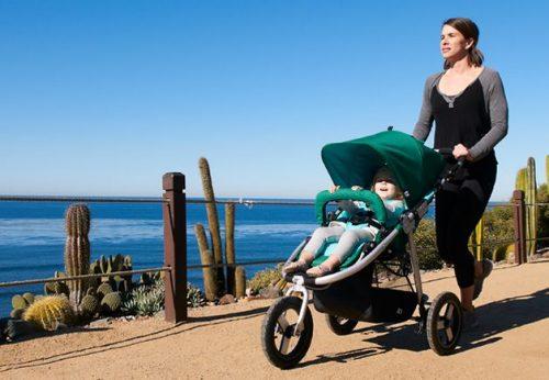 jogging-strollers-brake