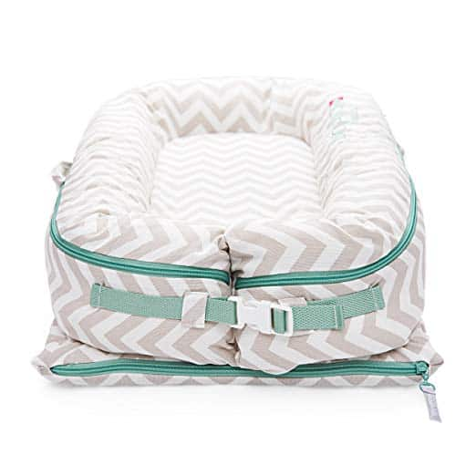 DockATot Deluxe+ All In One Baby Lounger-buckled