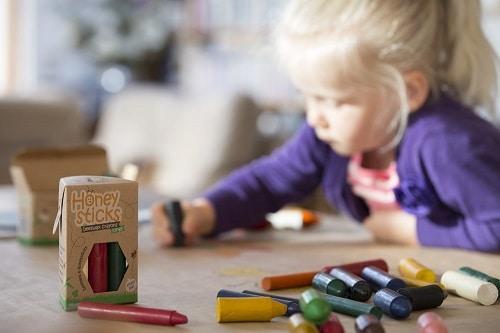 Honeysticks-Beeswax-Crayons