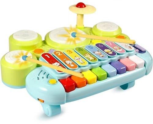 Ohuhu-Kids-Drum-Set