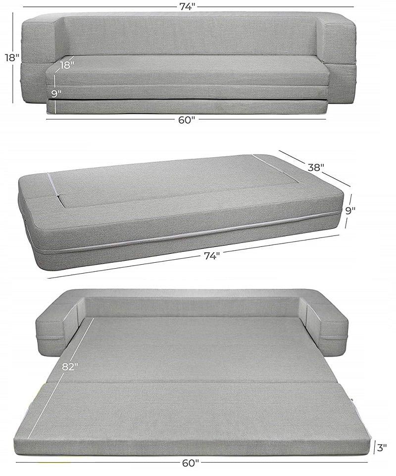 Milliard mattress sofa