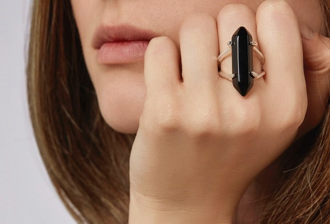 Black Onyx Meaning ring