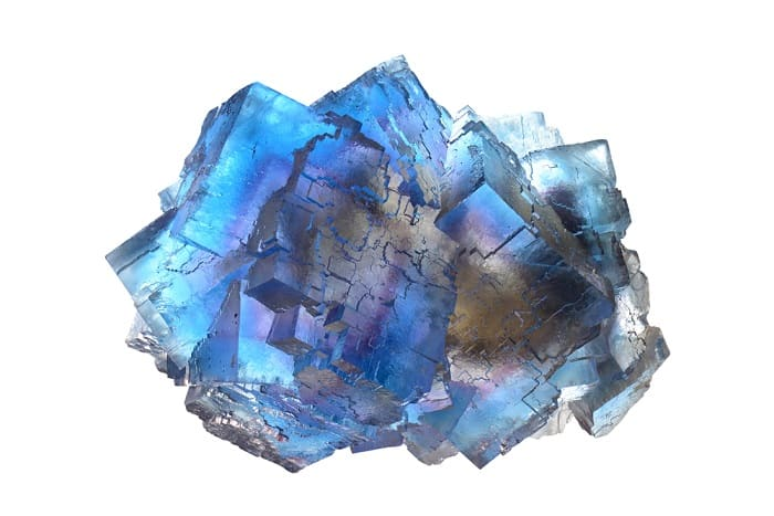 Crystals for protection Fluorite from Illinois