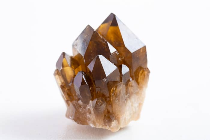 Crystals for protection smoky quartz crystal