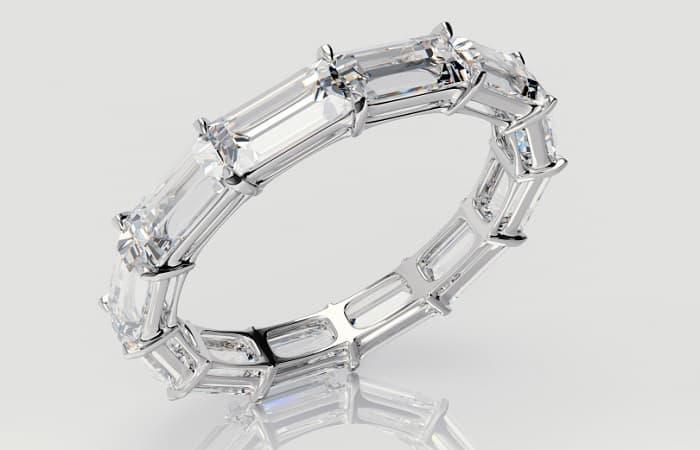 Diamond Accents baguette light