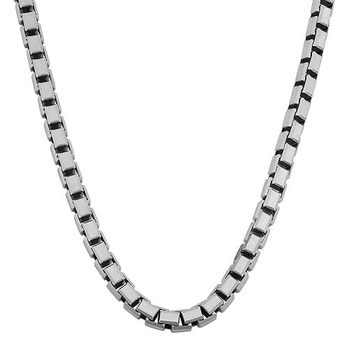 Necklace Chain Types box chain