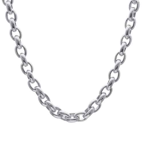 Necklace Chain Types cable chain