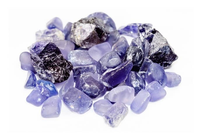 Purple Gemstones List Iolite
