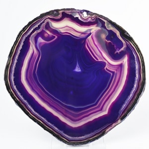 Purple Gemstones List Purple Agate