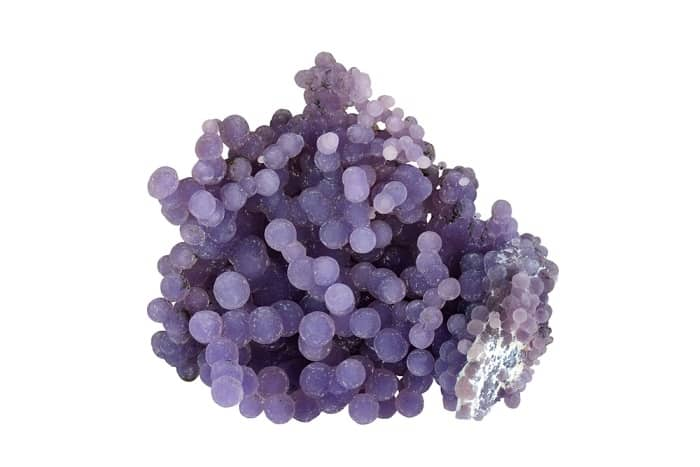 Purple Gemstones List purple Chalcedony
