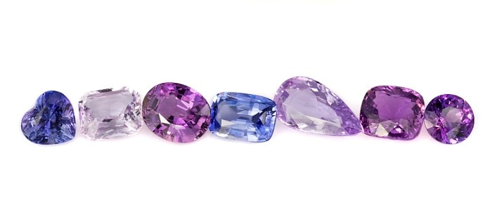 Purple Gemstones List purple sapphire