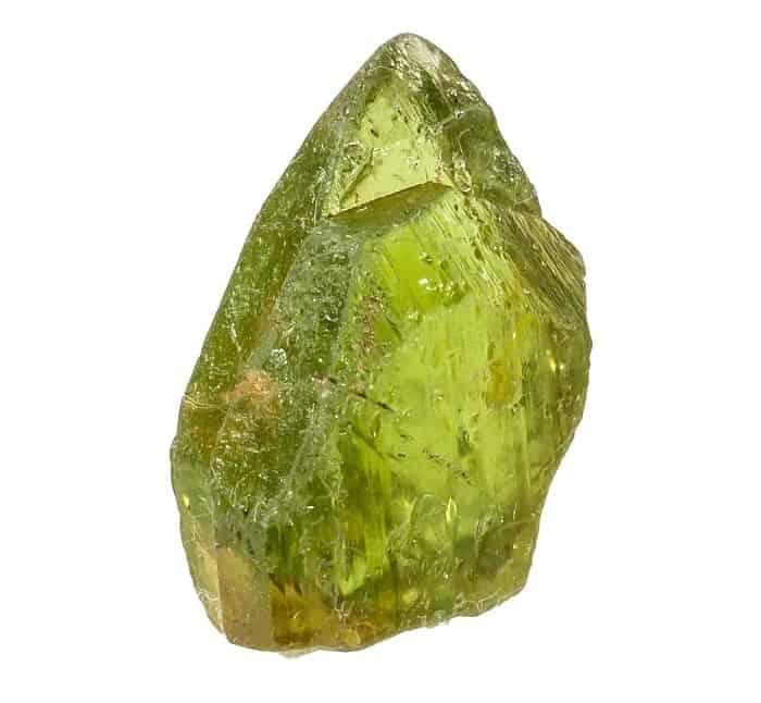 green gemstones list Peridot