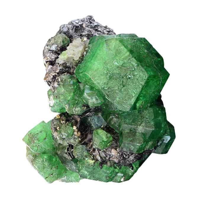 green gemstones list green garnet