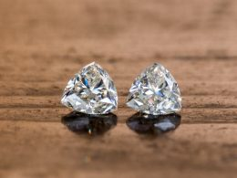 trillion cut diamond to catch eyes