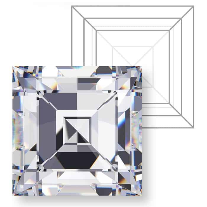 types of diamond cuts Carré Carre step cut