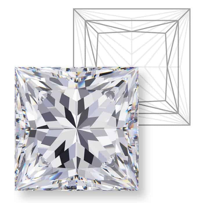 types of diamond cuts Princess French