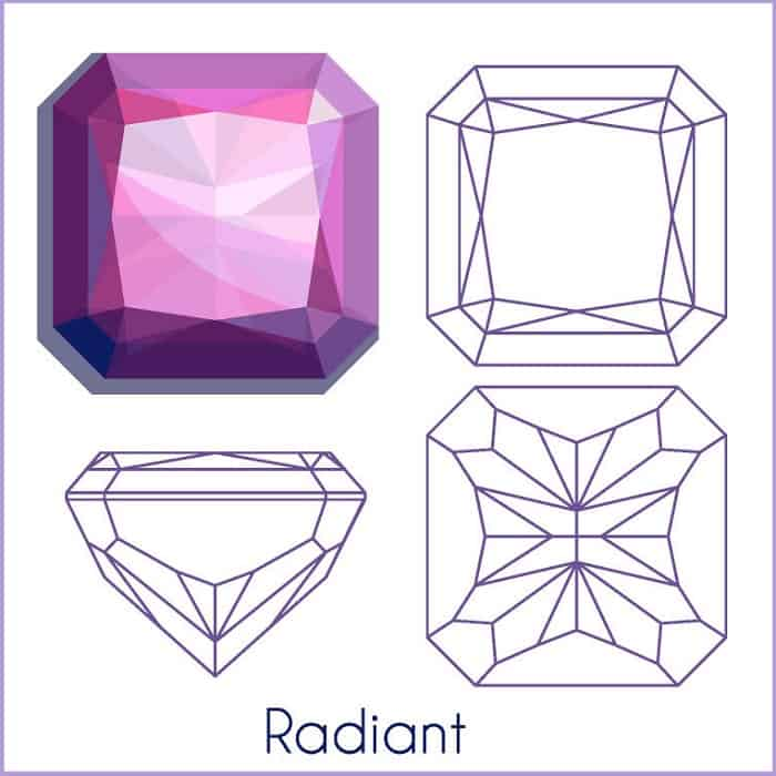 types of diamond cuts Radiant