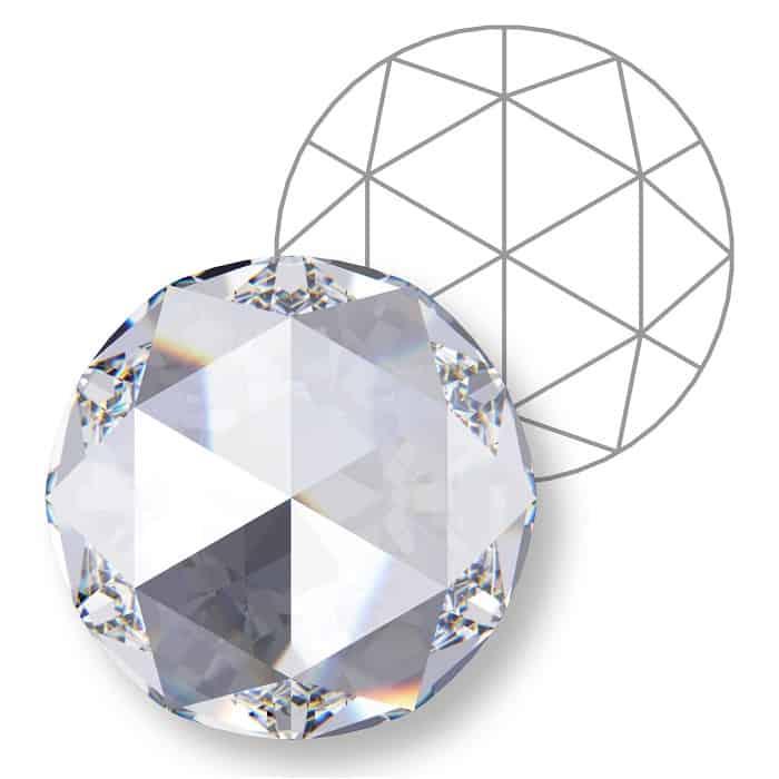 types of diamond cuts Rose