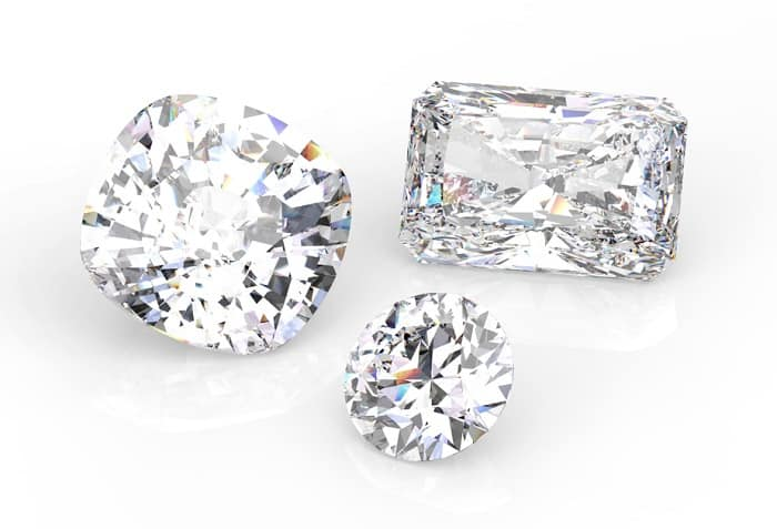 types of diamond cuts brilliant and step cut