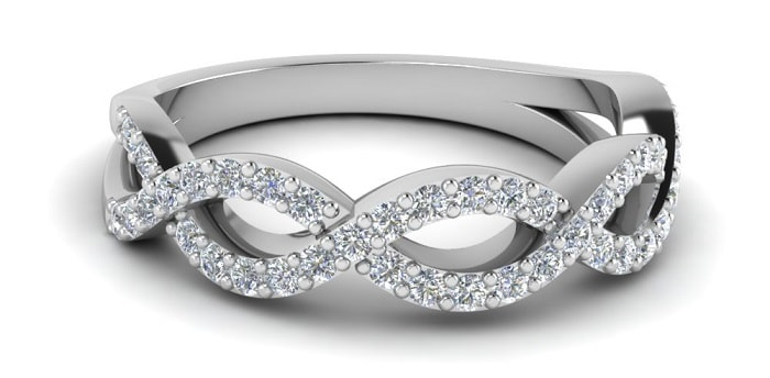 types of ring settings infinity