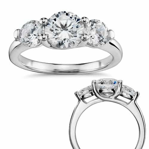 types of ring settings trellis b