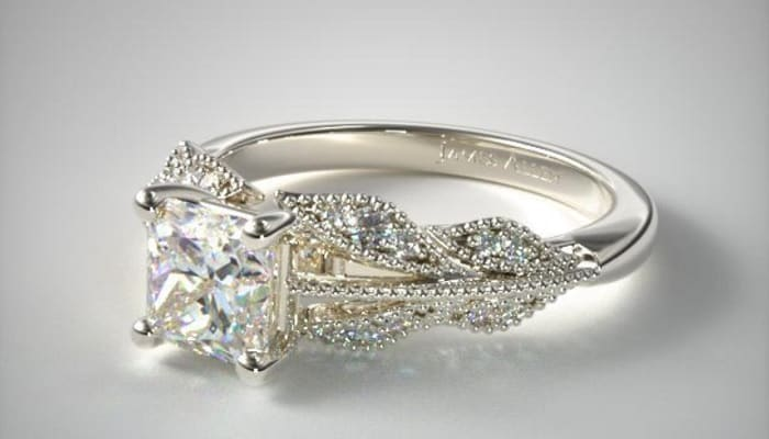 types of ring settings vintage