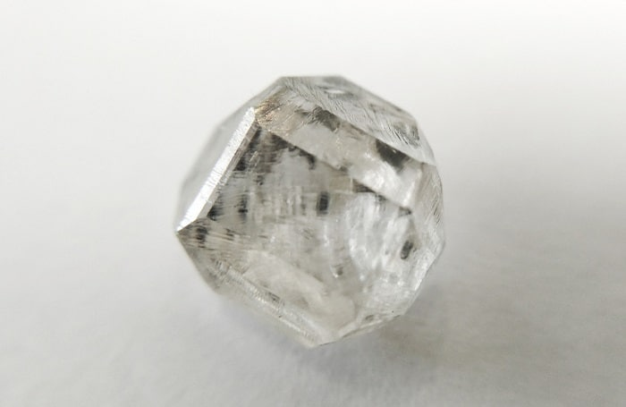 uncut diamond a lab-developed