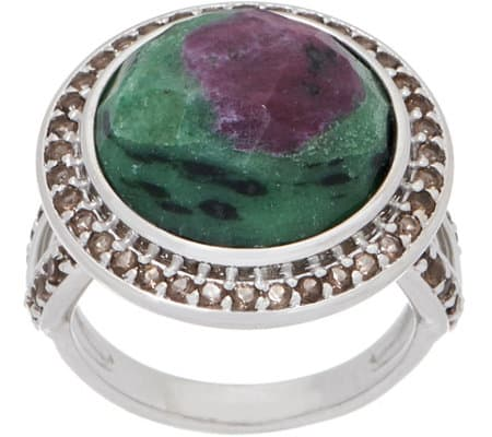 Best Crystals for Focus Zoisite Ring