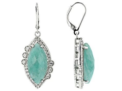 Best Crystals for Focus amazonite earrings