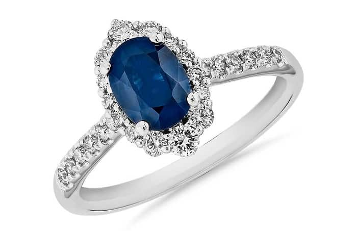 Best Crystals for Focus sapphire pave ring