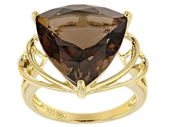 Best Crystals for Focus smoky quartz ring